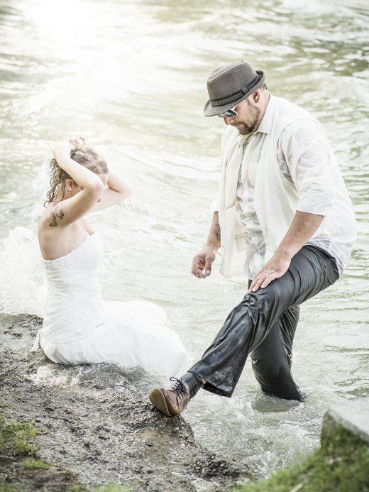 Hochzeitsfoto am Ammersee