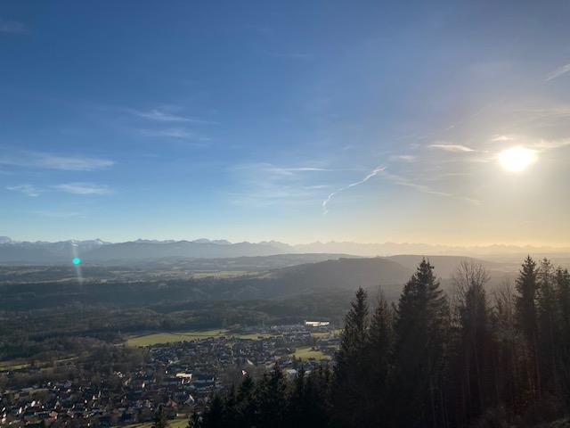 Ausflug auf den Hohenpeißenberg.